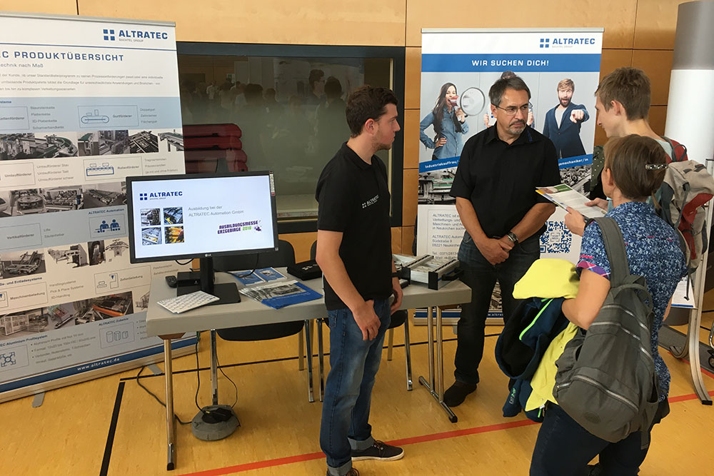 Training fair in Stollberg 2018